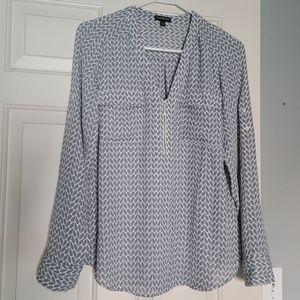 Express Portfino Shirt with Zipper size M